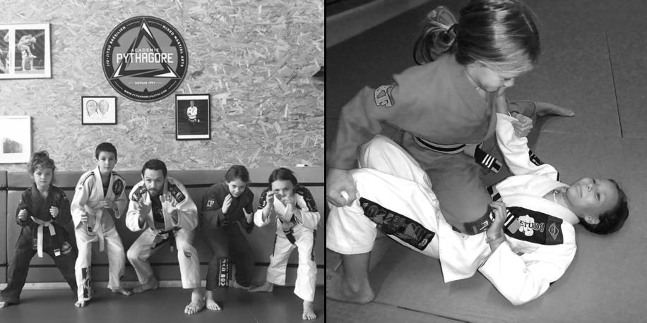 pythagore enfants kids judo jiu-jitsu brésilien bordeaux