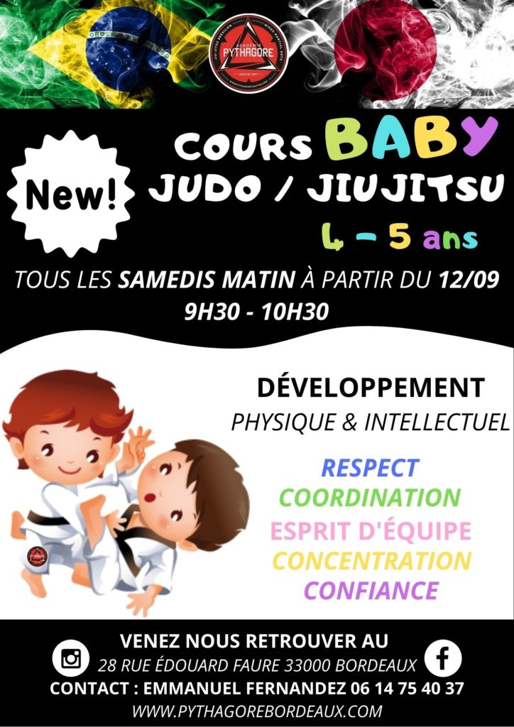 Enfant judo 4 ans